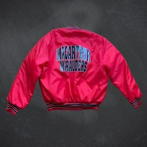 Vintage Macarthur Maruders Quilted Bombers
